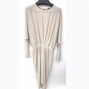Lanvin Beige Dress Size 2